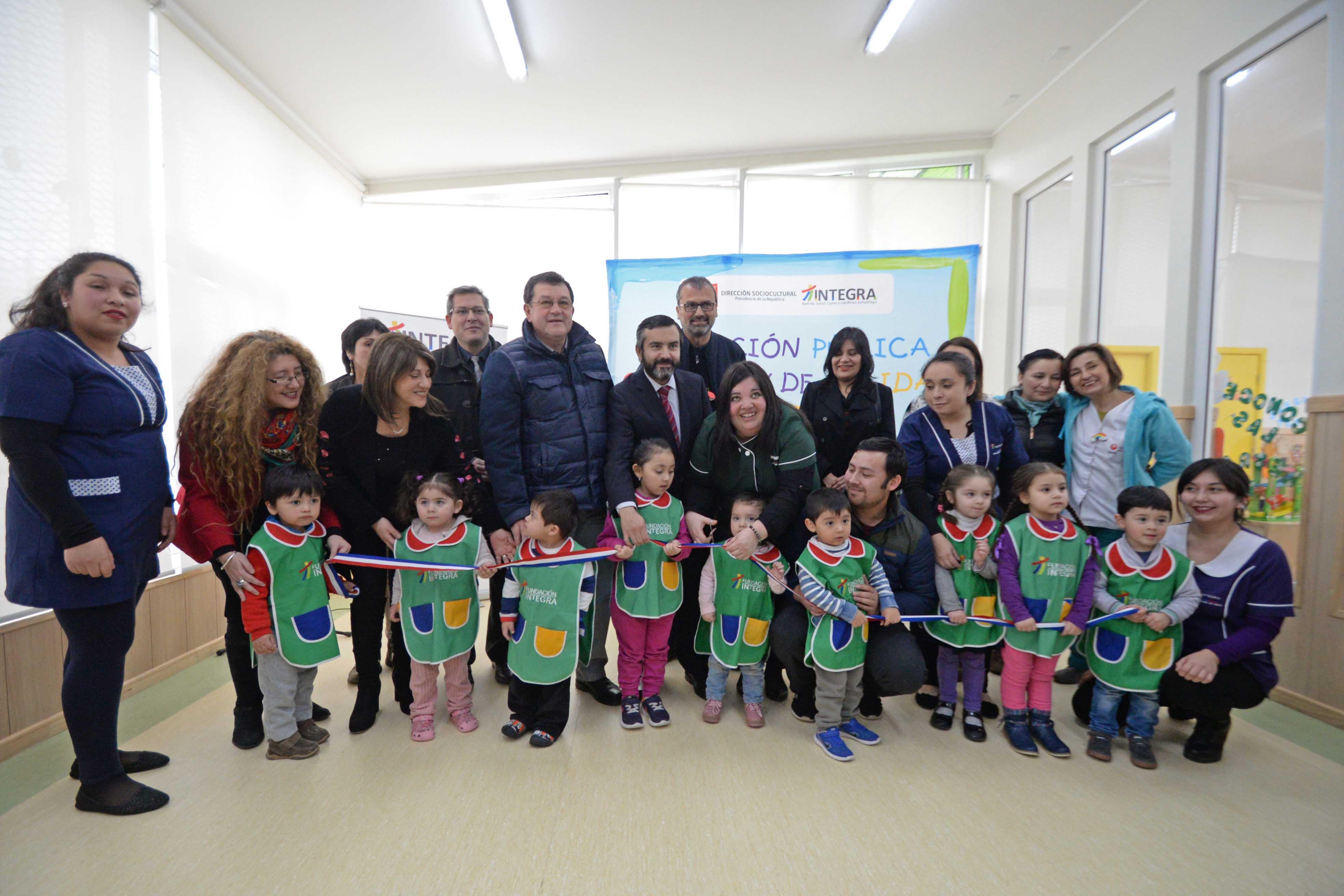 Integra inaugur nuevos jardines infantiles en puerto for Jardines integra